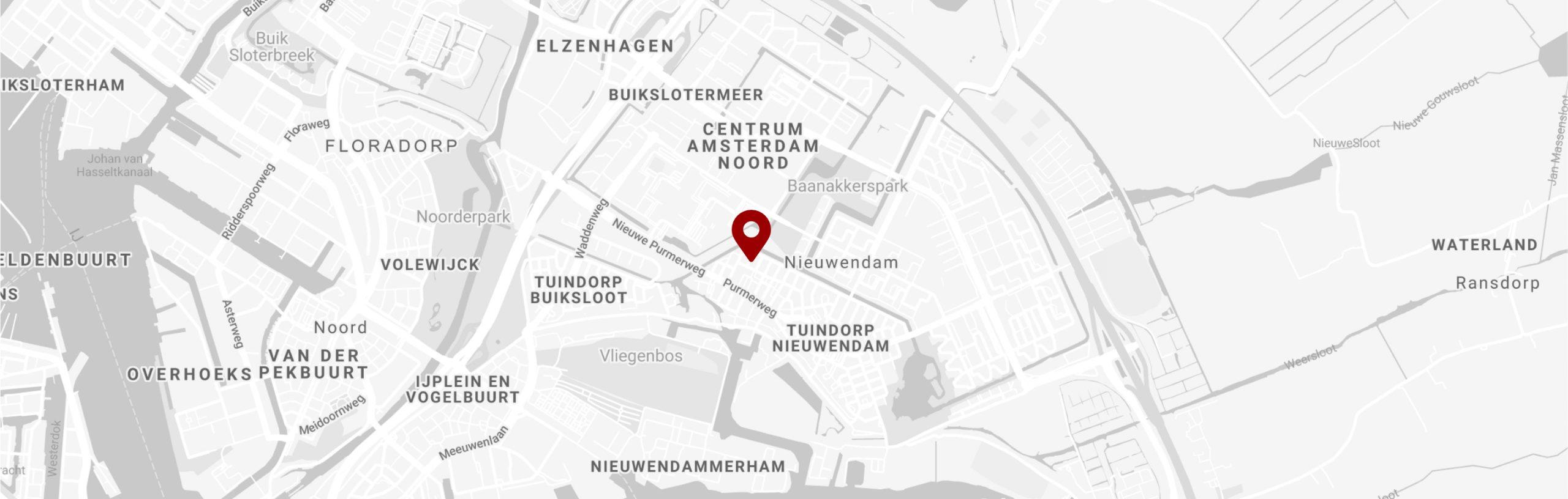 Locatie Kelly Fashion Amsterdam